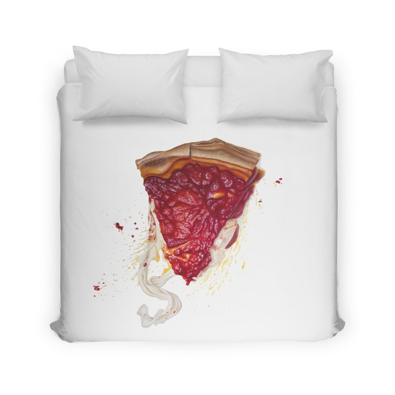 Deep Dish Home Duvet by mikesobeck's Artist Shop