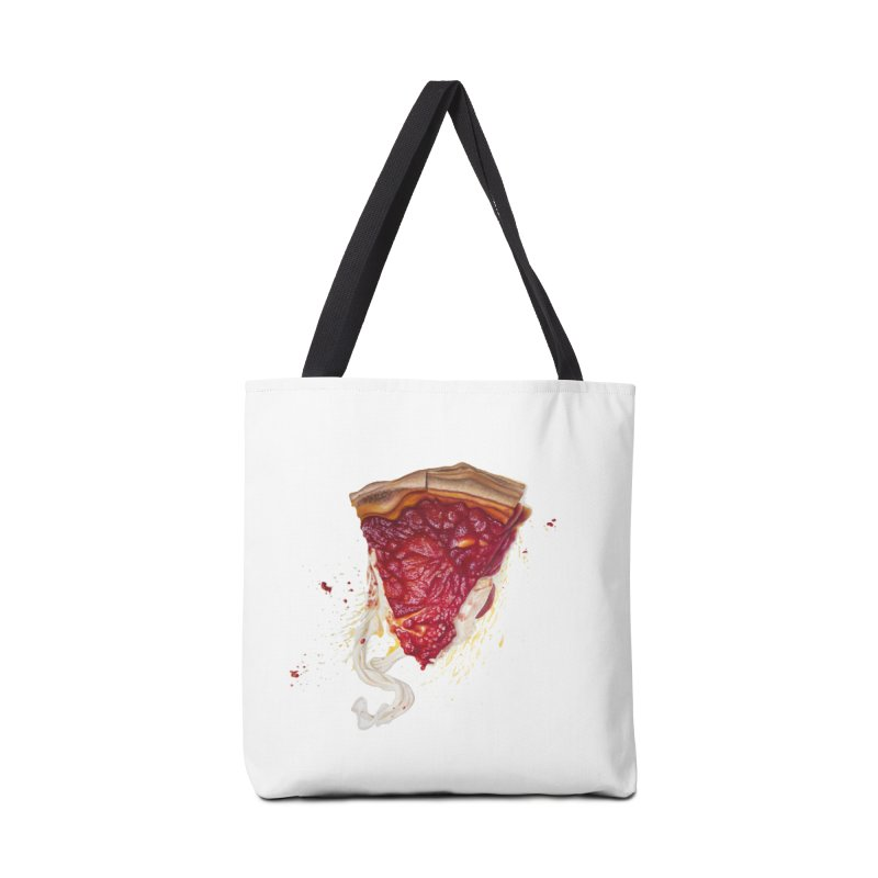 Deep Dish Accessories Tote Bag Bag by mikesobeck's Artist Shop