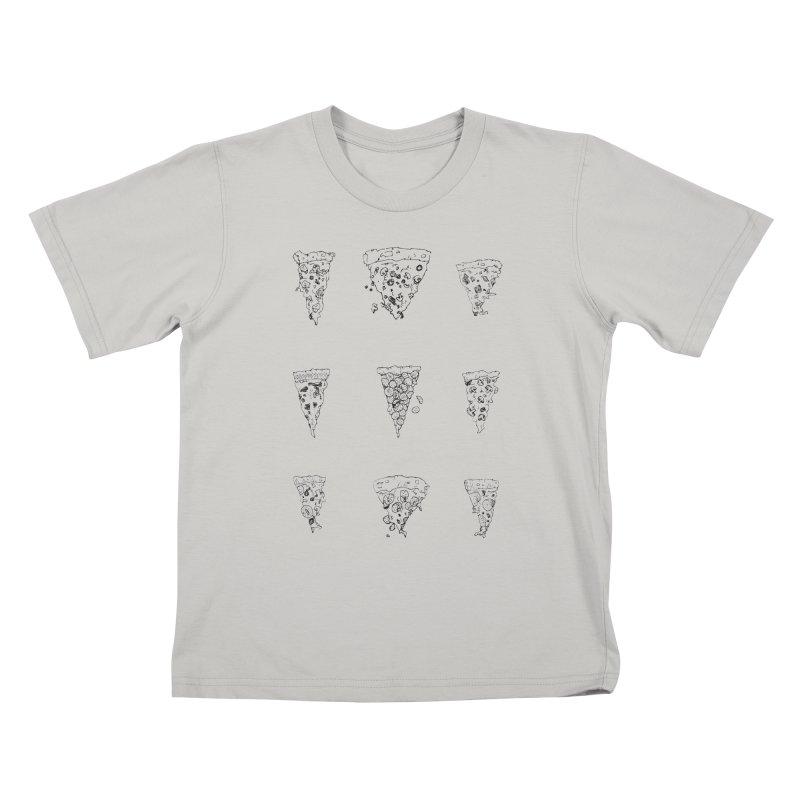 Pizza Sweatshirt Kids T-Shirt by mikesobeck's Artist Shop