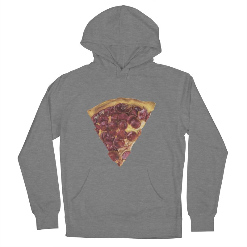 Pepperoni Women's French Terry Pullover Hoody by mikesobeck's Artist Shop