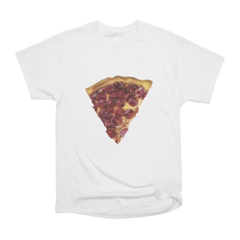 Pepperoni Men's Heavyweight T-Shirt by mikesobeck's Artist Shop