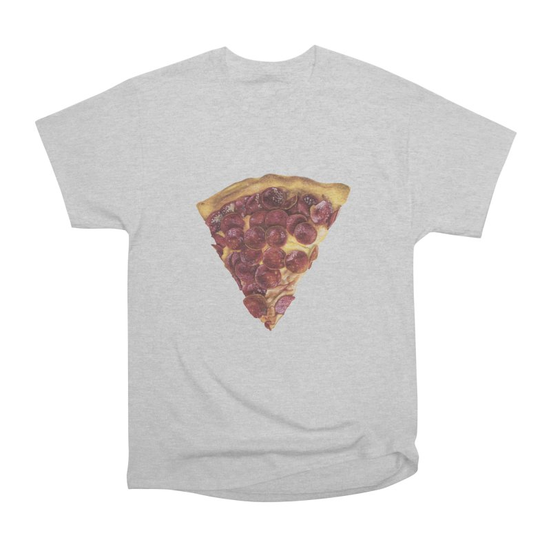 Pepperoni Women's Heavyweight Unisex T-Shirt by mikesobeck's Artist Shop