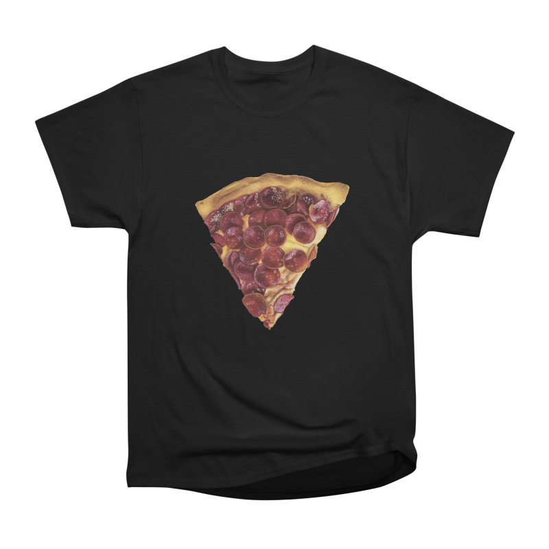 Pepperoni Women's Classic Unisex T-Shirt by mikesobeck's Artist Shop