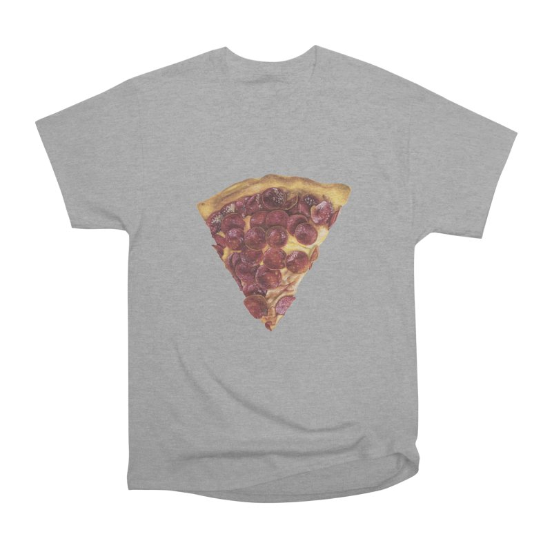 Pepperoni Men's Heavyweight T-Shirt by mikesobeck's Artist Shop