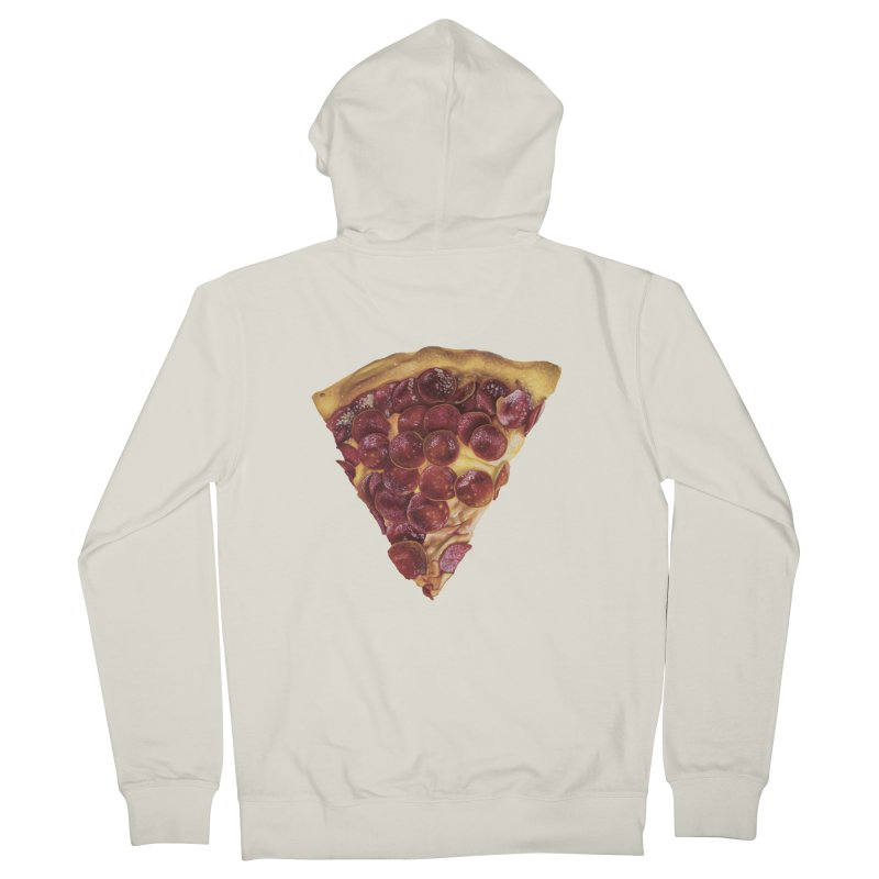 Pepperoni Women's Zip-Up Hoody by mikesobeck's Artist Shop