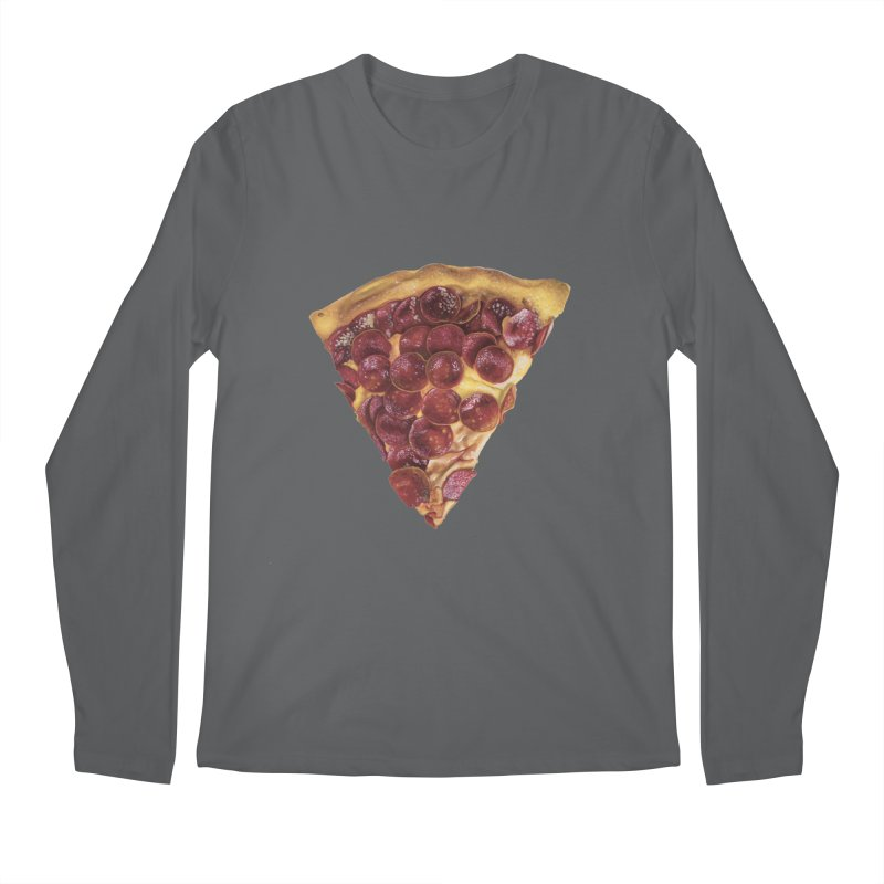 Pepperoni Men's Longsleeve T-Shirt by mikesobeck's Artist Shop
