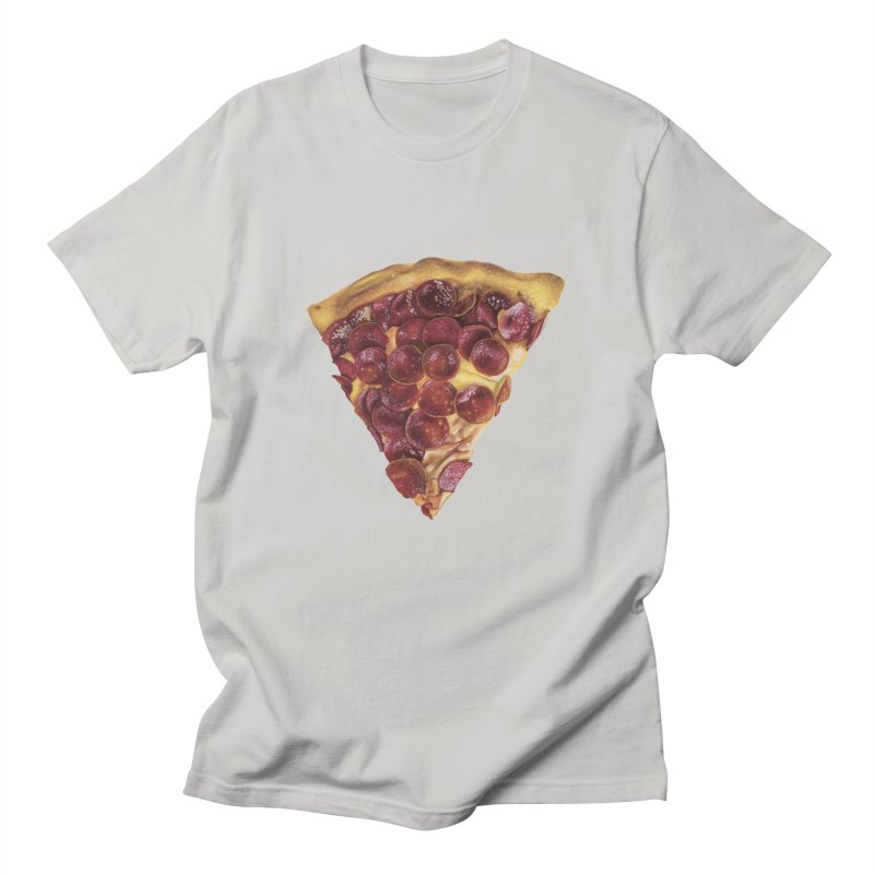 Pepperoni Men's Regular T-Shirt by mikesobeck's Artist Shop