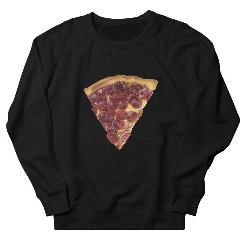 Pepperoni Women's French Terry Sweatshirt by mikesobeck's Artist Shop