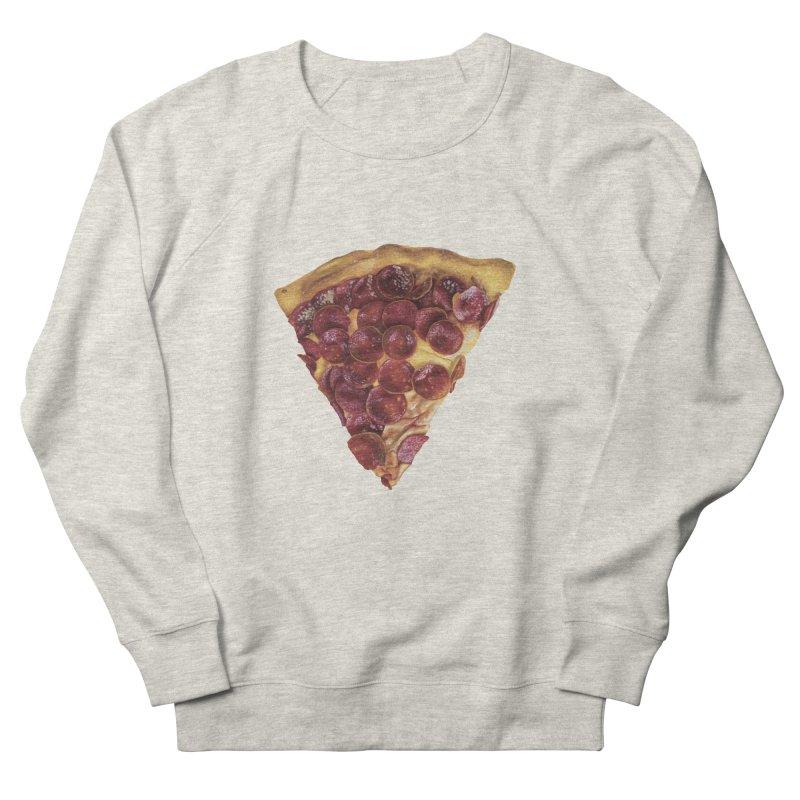 Pepperoni Men's Sweatshirt by mikesobeck's Artist Shop
