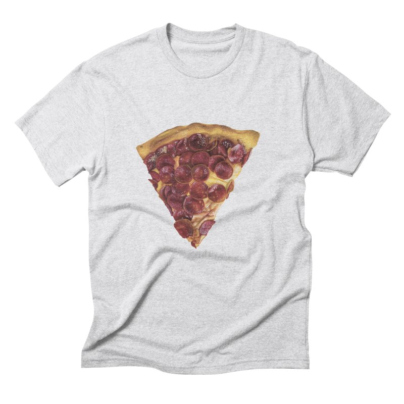 Pepperoni Men's Triblend T-Shirt by mikesobeck's Artist Shop