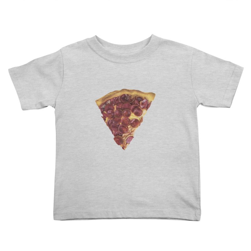 Pepperoni Kids Toddler T-Shirt by mikesobeck's Artist Shop