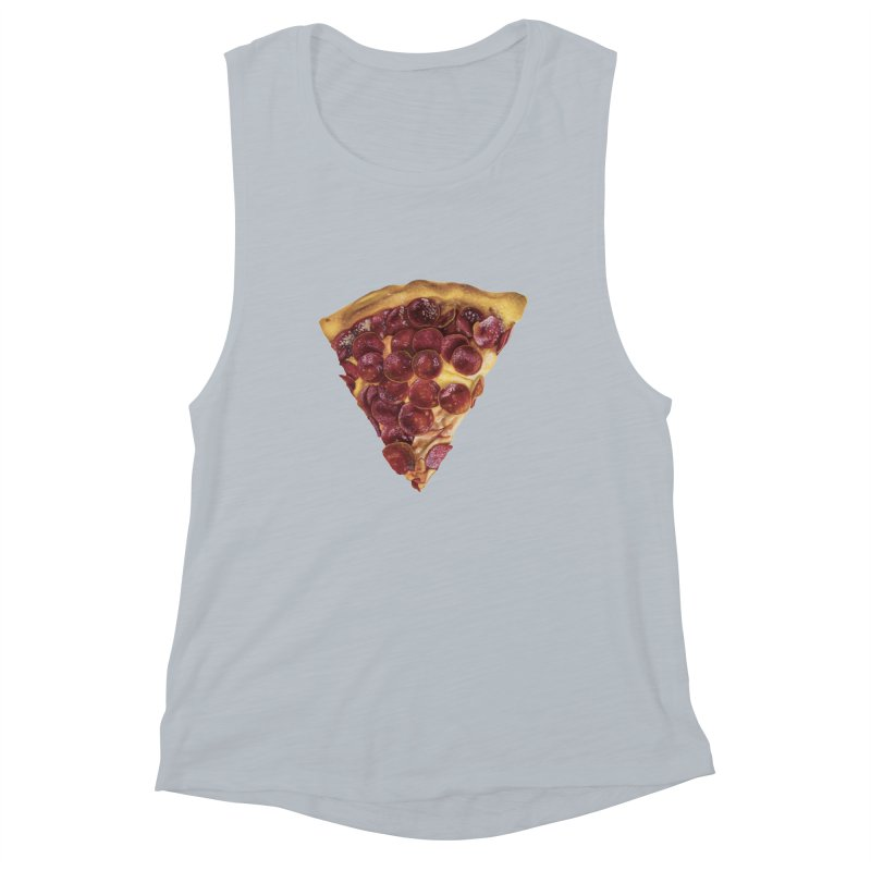 Pepperoni Women's Muscle Tank by mikesobeck's Artist Shop