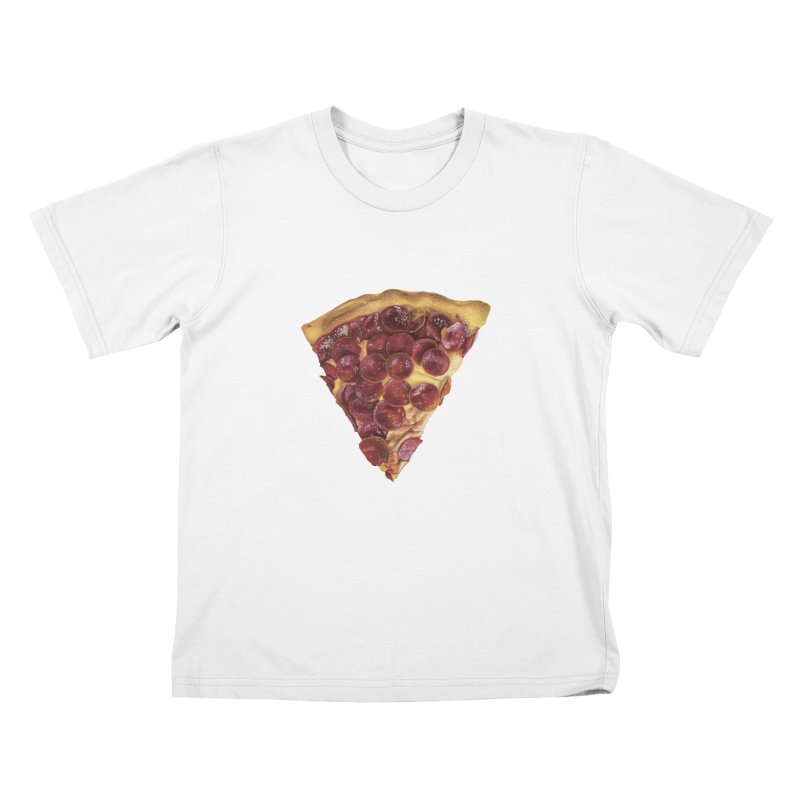Pepperoni Kids T-Shirt by mikesobeck's Artist Shop