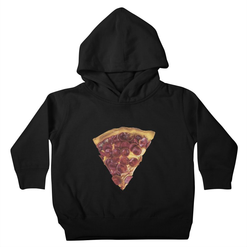 Pepperoni Kids Toddler Pullover Hoody by mikesobeck's Artist Shop