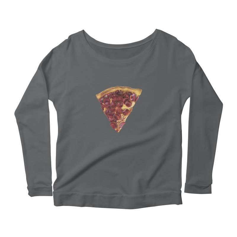 Pepperoni Women's Longsleeve T-Shirt by mikesobeck's Artist Shop