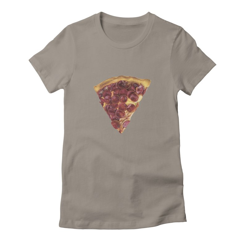 Pepperoni Women's T-Shirt by mikesobeck's Artist Shop