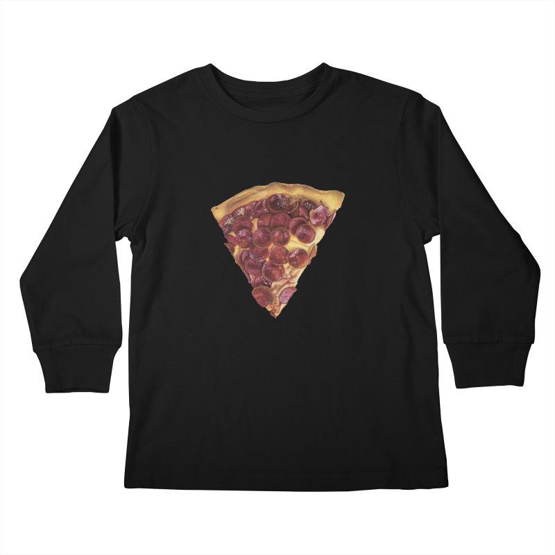 Pepperoni Kids Longsleeve T-Shirt by mikesobeck's Artist Shop