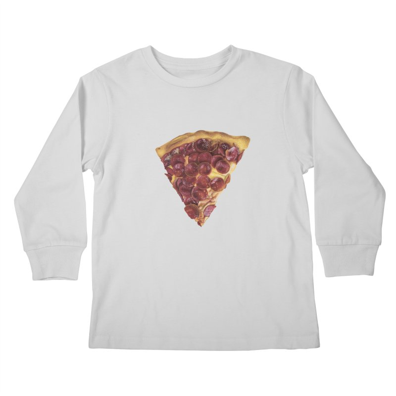 Pepperoni Kids Longsleeve T-Shirt by mikesobeck's Artist Shop