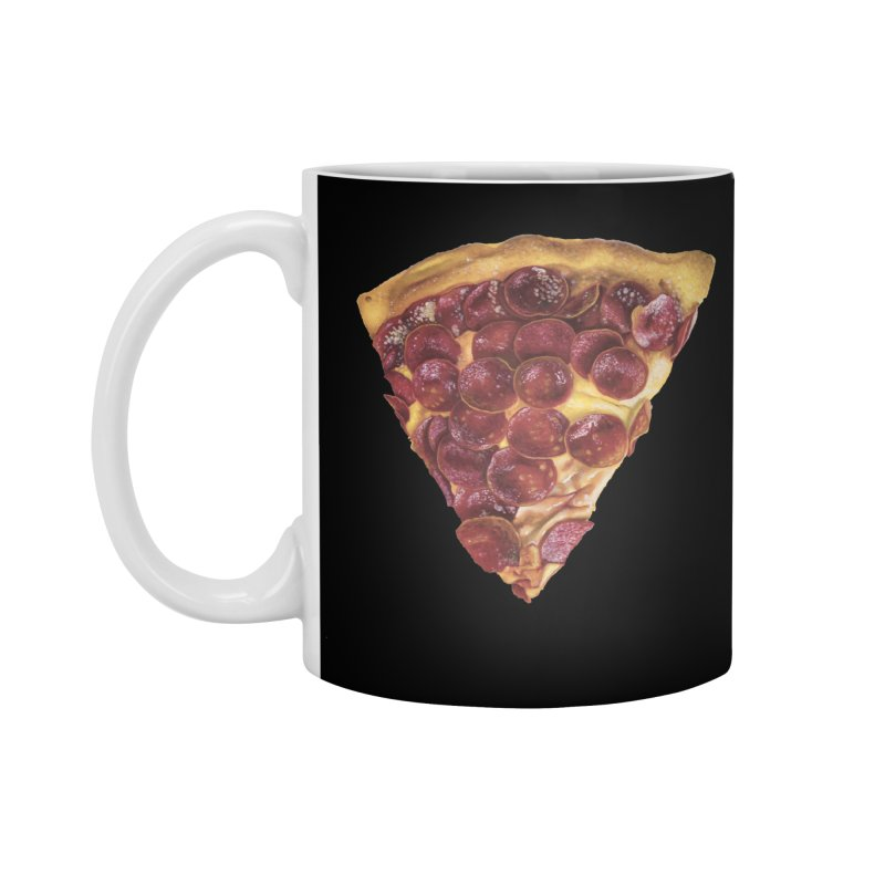 Pepperoni Accessories Standard Mug by mikesobeck's Artist Shop