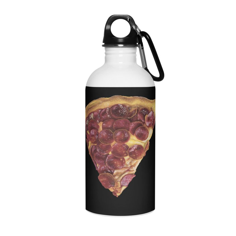 Pepperoni Accessories Water Bottle by mikesobeck's Artist Shop