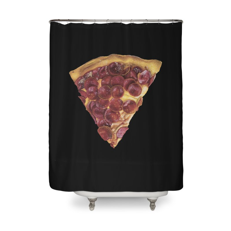 Pepperoni Home Shower Curtain by mikesobeck's Artist Shop