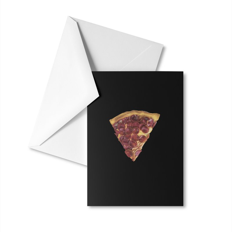 Pepperoni Accessories Greeting Card by mikesobeck's Artist Shop