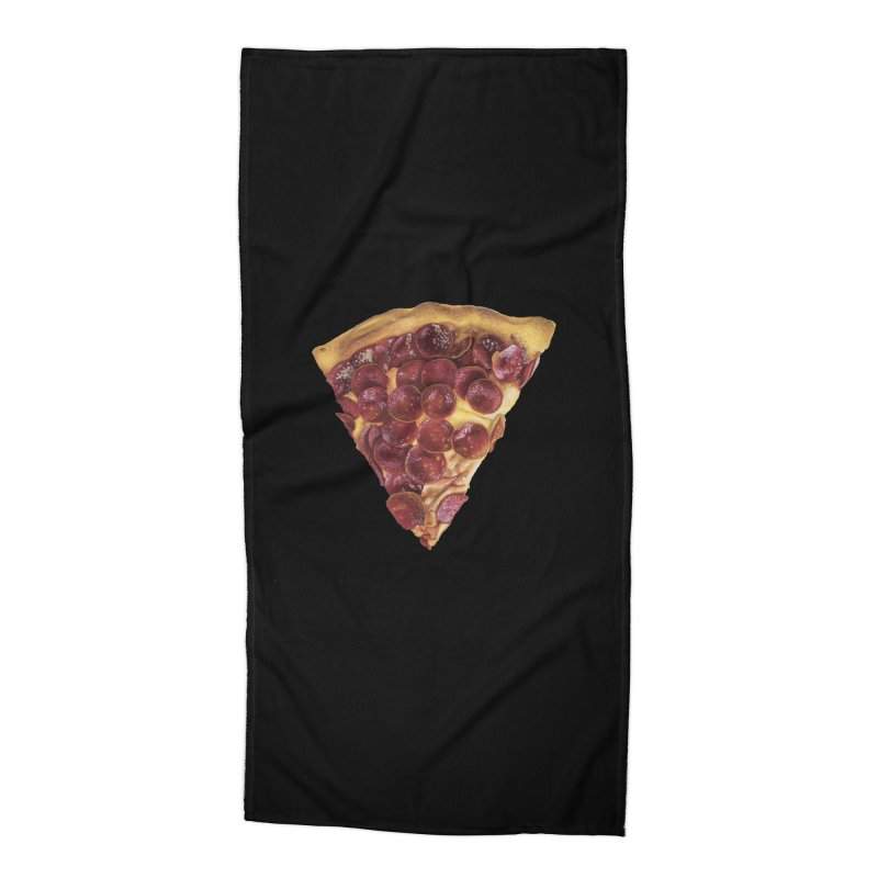 Pepperoni Accessories Beach Towel by mikesobeck's Artist Shop