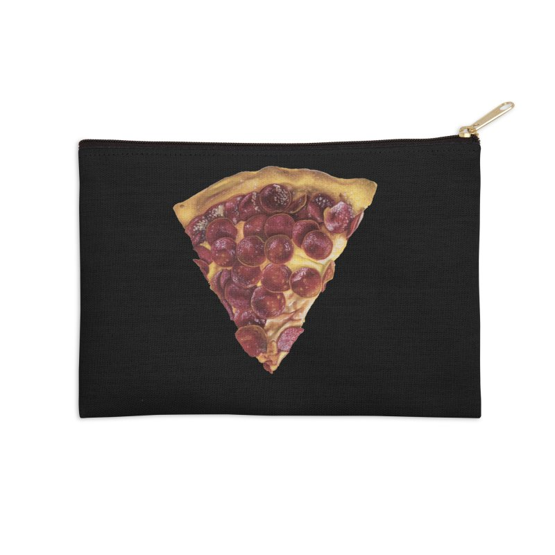 Pepperoni Accessories Zip Pouch by mikesobeck's Artist Shop