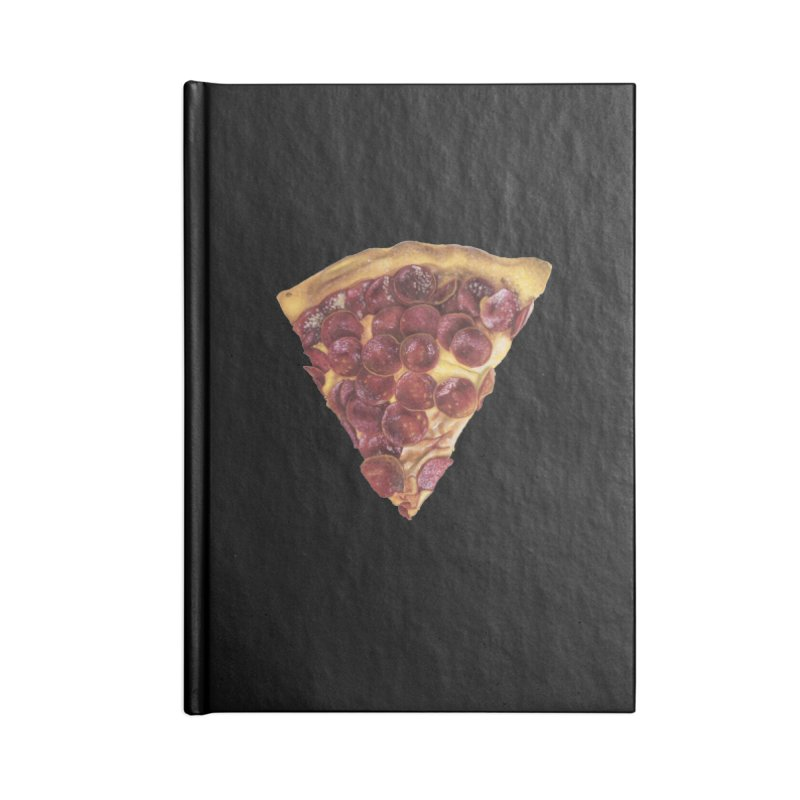 Pepperoni Accessories Lined Journal Notebook by mikesobeck's Artist Shop