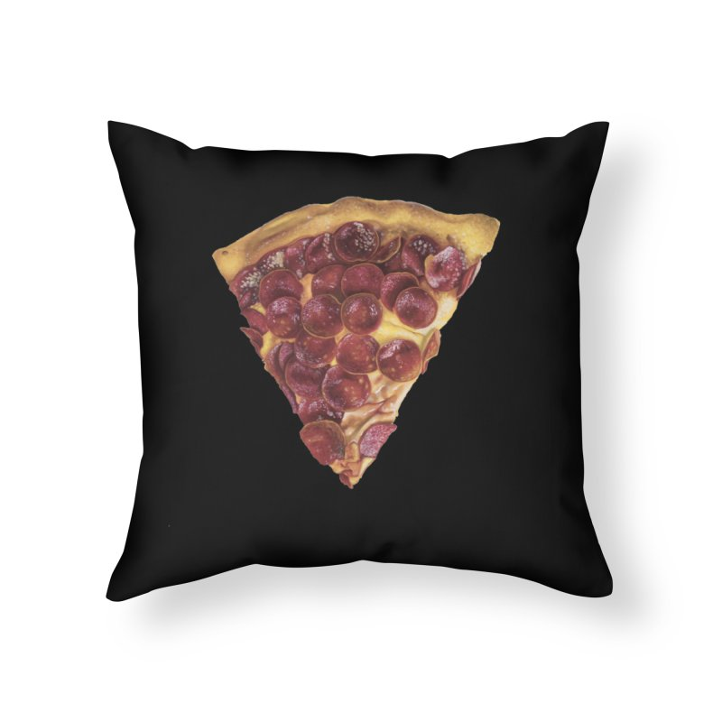 Pepperoni Home Throw Pillow by mikesobeck's Artist Shop