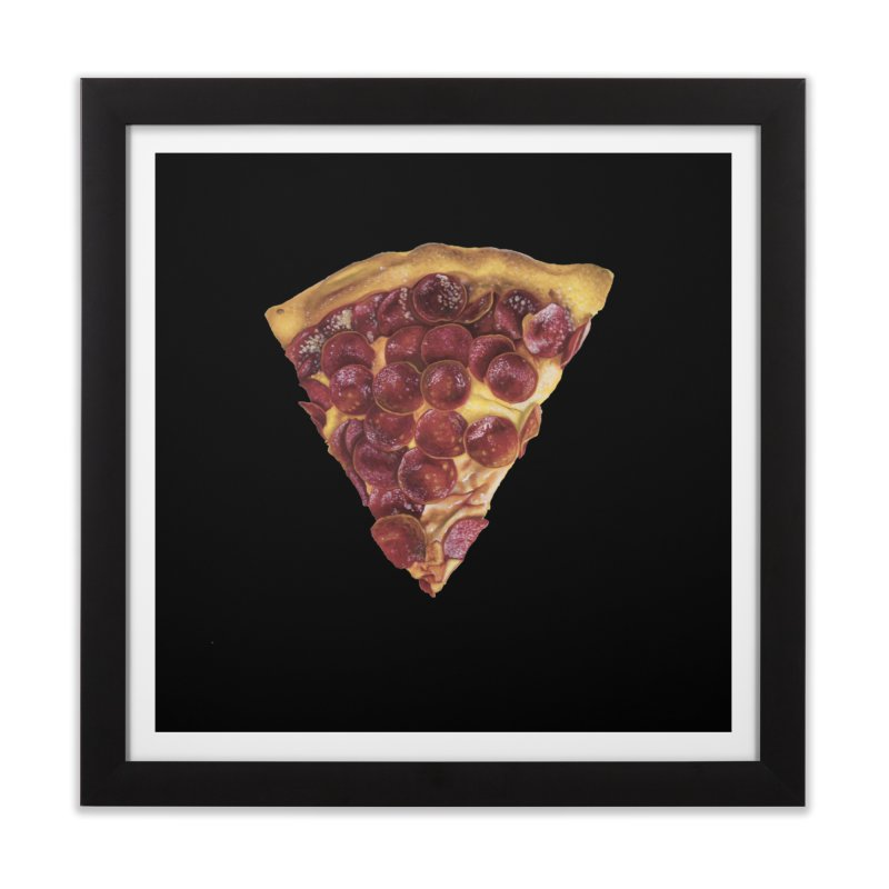 Pepperoni Home Framed Fine Art Print by mikesobeck's Artist Shop