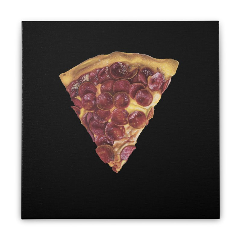 Pepperoni Home Stretched Canvas by mikesobeck's Artist Shop
