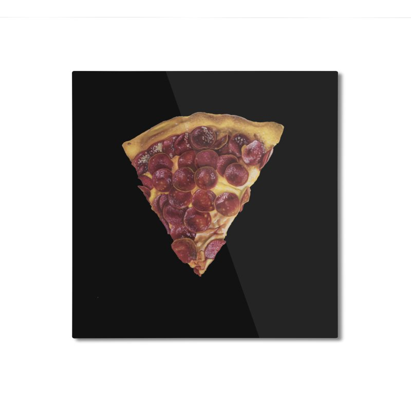 Pepperoni Home Mounted Aluminum Print by mikesobeck's Artist Shop