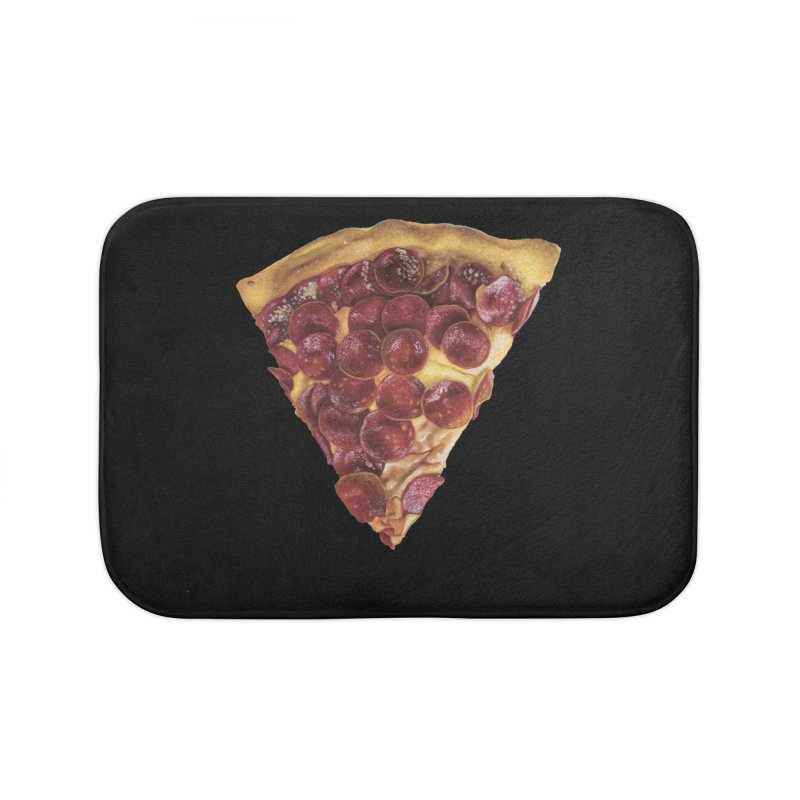 Pepperoni Home Bath Mat by mikesobeck's Artist Shop