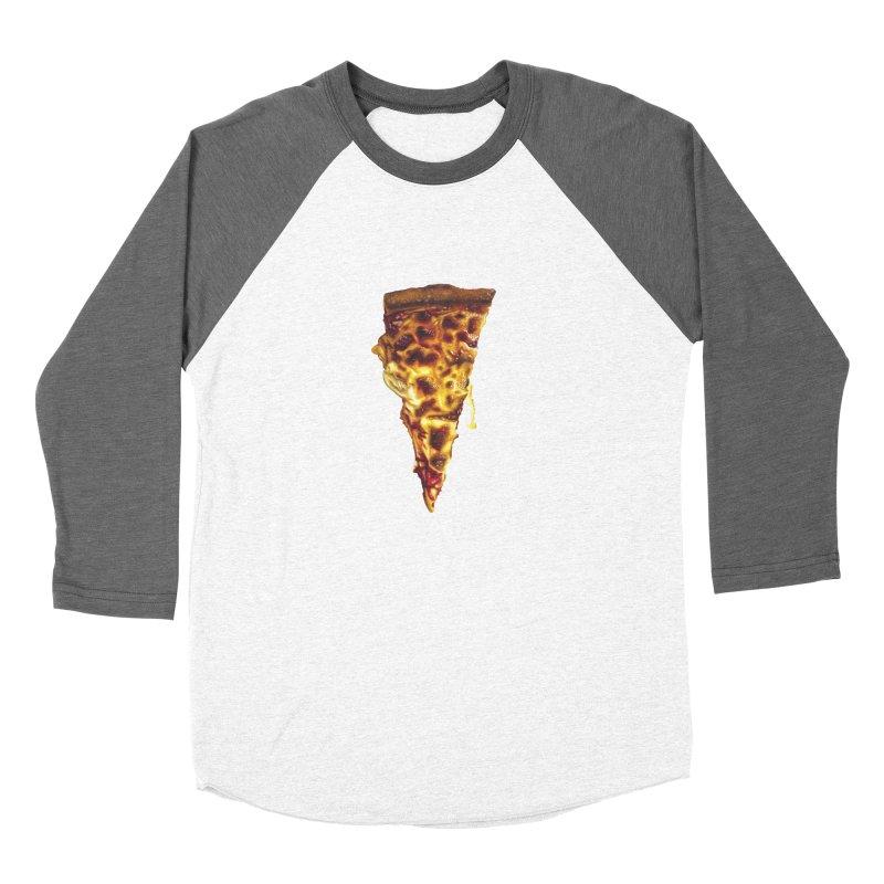 Cheese Women's Baseball Triblend Longsleeve T-Shirt by mikesobeck's Artist Shop