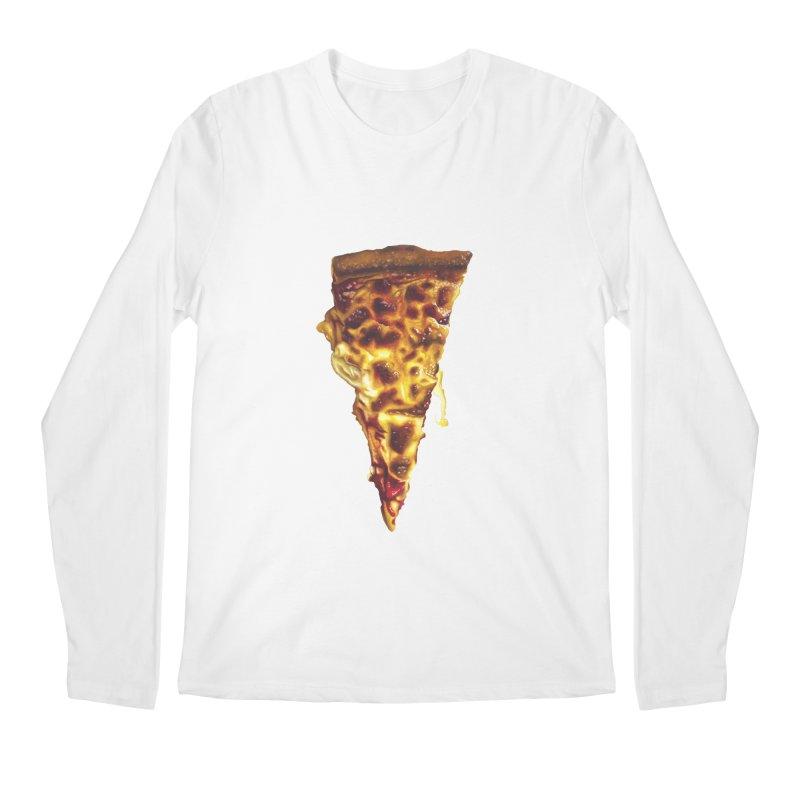 Cheese Men's Regular Longsleeve T-Shirt by mikesobeck's Artist Shop