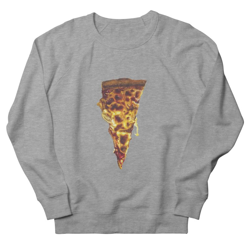 Cheese Men's French Terry Sweatshirt by mikesobeck's Artist Shop