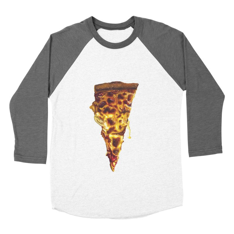 Cheese Women's Baseball Triblend T-Shirt by mikesobeck's Artist Shop