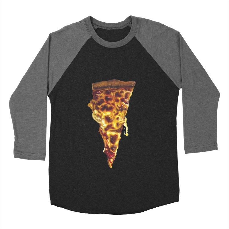 Cheese Men's Baseball Triblend Longsleeve T-Shirt by mikesobeck's Artist Shop