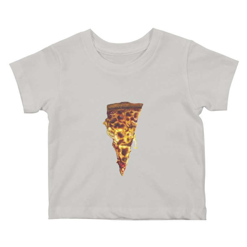 Cheese Kids Baby T-Shirt by mikesobeck's Artist Shop