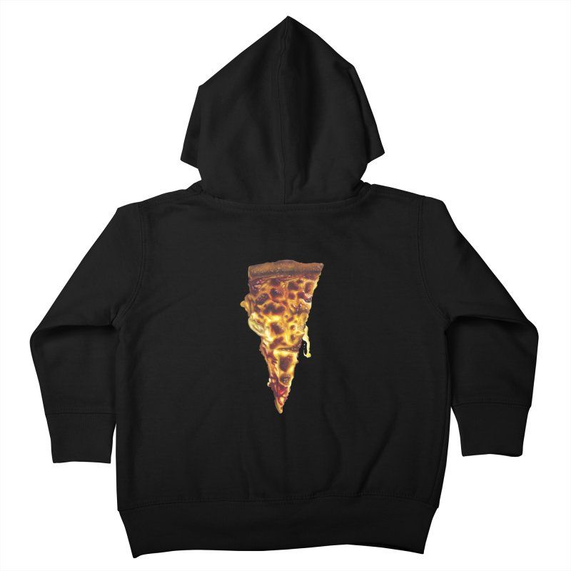 Cheese Kids Toddler Zip-Up Hoody by mikesobeck's Artist Shop