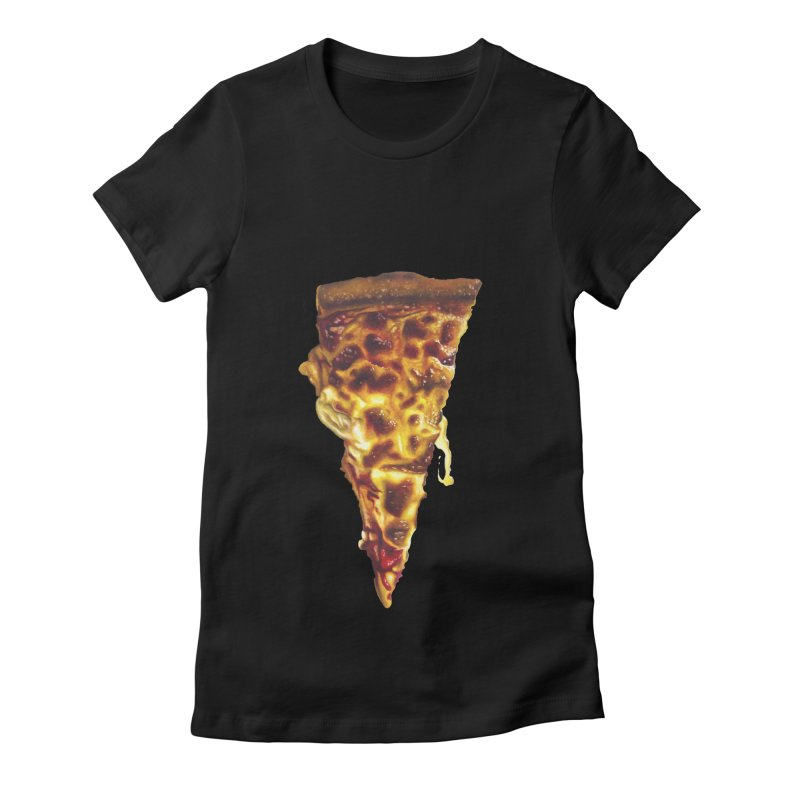Cheese Women's Fitted T-Shirt by mikesobeck's Artist Shop