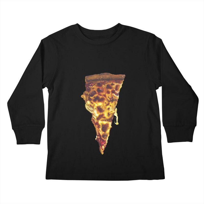 Cheese Kids Longsleeve T-Shirt by mikesobeck's Artist Shop
