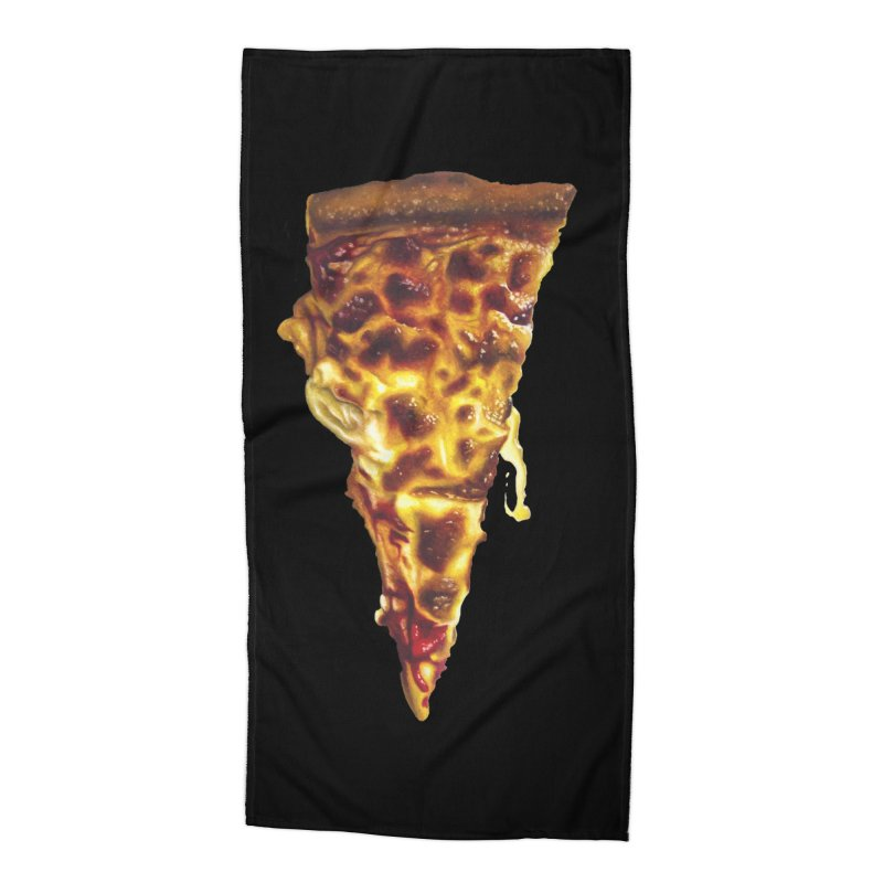 Cheese Accessories Beach Towel by mikesobeck's Artist Shop