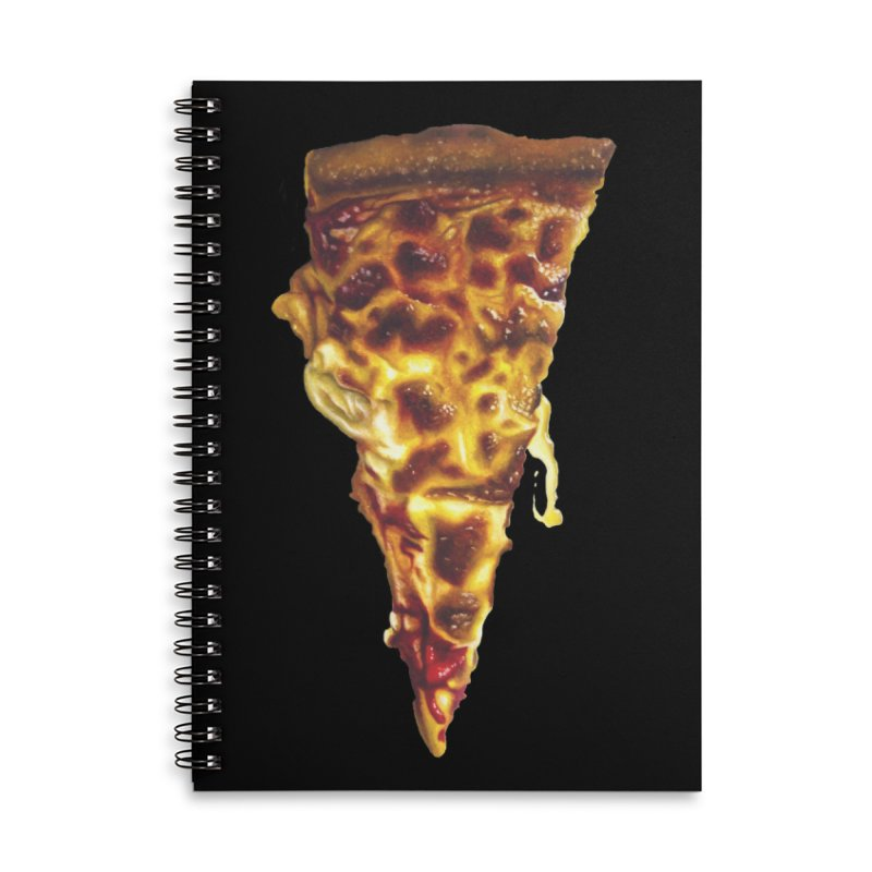 Cheese Accessories Lined Spiral Notebook by mikesobeck's Artist Shop