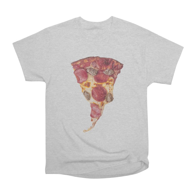 Pepperoni and Sausage Women's Heavyweight Unisex T-Shirt by mikesobeck's Artist Shop