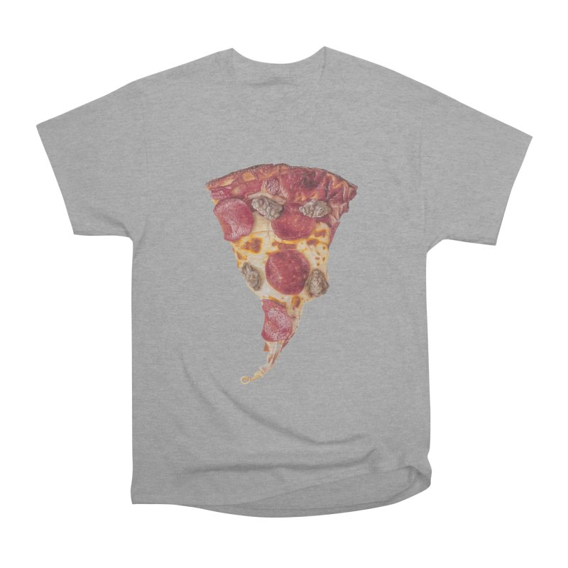 Pepperoni and Sausage Men's Heavyweight T-Shirt by mikesobeck's Artist Shop