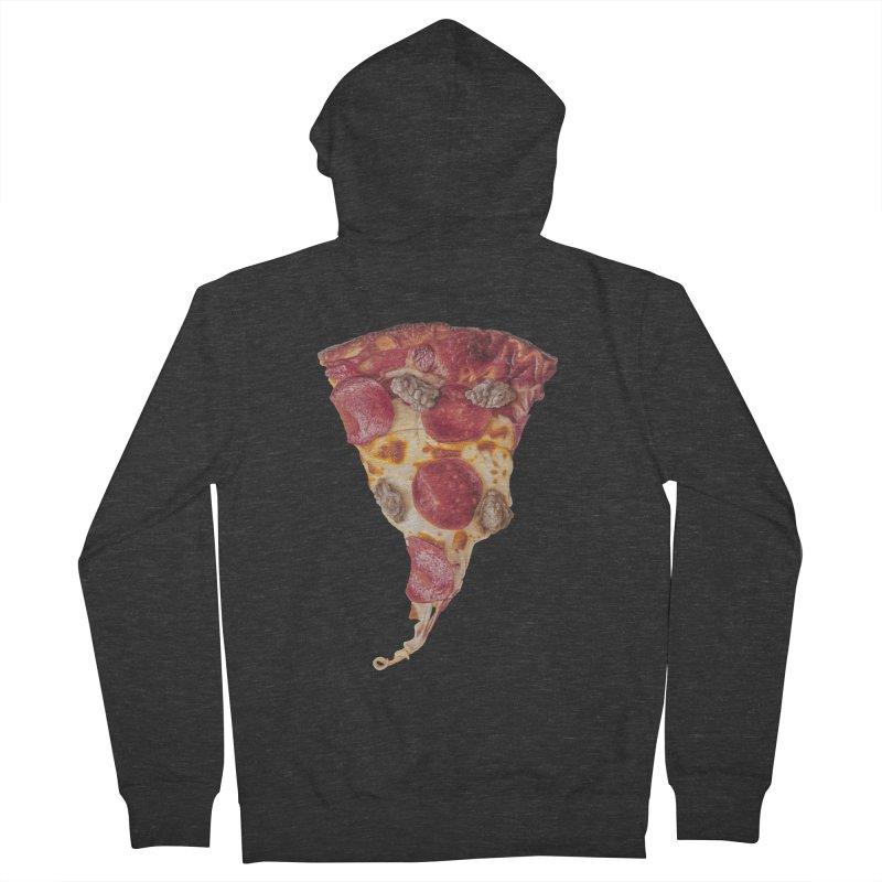 Pepperoni and Sausage Men's Zip-Up Hoody by mikesobeck's Artist Shop