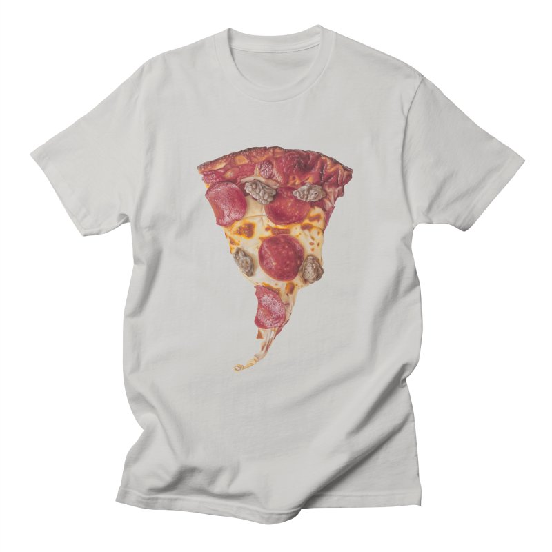 Pepperoni and Sausage Men's Regular T-Shirt by mikesobeck's Artist Shop