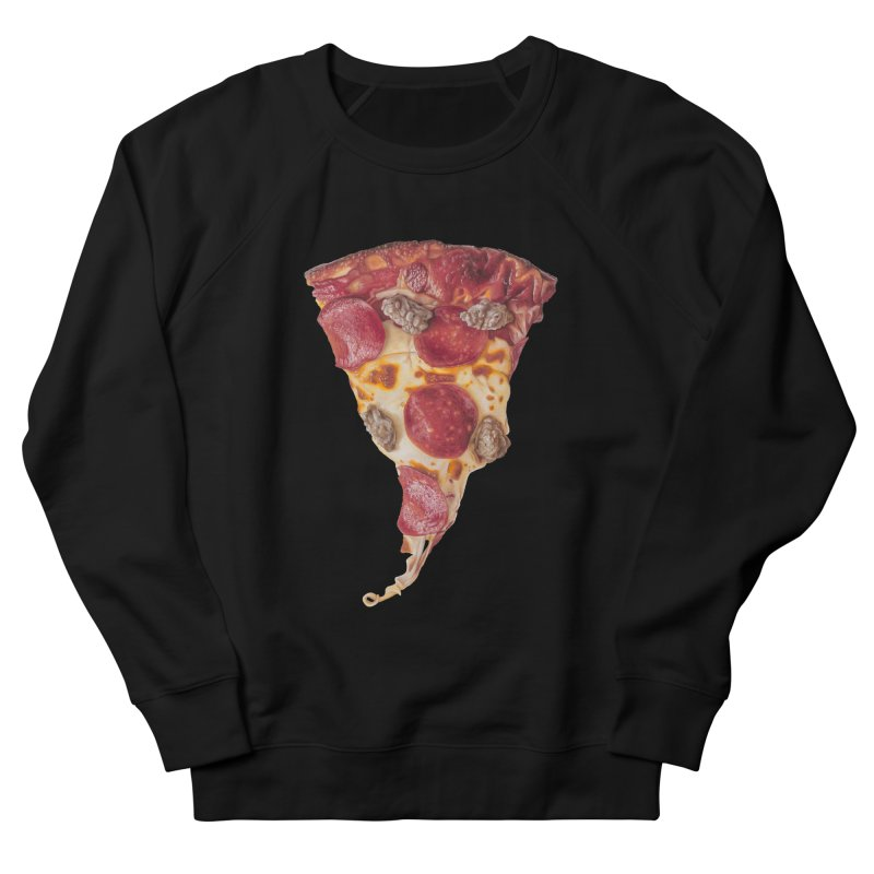 Pepperoni and Sausage Women's French Terry Sweatshirt by mikesobeck's Artist Shop
